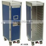 Aircraft Inflight Service Meal Cart, Half-Size Trolley for Aviation, Airline, Airplane, Aeroplane