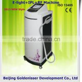2013 Exporter E-light+IPL+RF machine elite epilation machine weight loss 2013 woman and men hair removal machine
