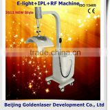 Skin Lifting 2013 New Style E-light+IPL+RF Arms / Legs Hair Removal Machine Www.golden-laser.org/ Chinese Medical Device Redness Removal