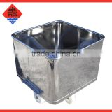 Stainless Steel Dump Buggy meat trolley 200L & 300L
