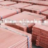 High quality copper cathode with high-purity