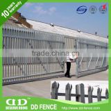 galvanized metal fence main gate with many colors