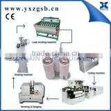 CE Certification semi automatic aerosol equipment factory for Tin Can Making Machine production line