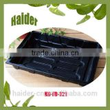 eco friendly ps black plastic fodder trays
