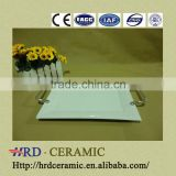 China hot sale stock ceramic plate printing machine with Metal handle