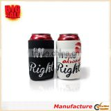 Mr. Right and Mrs. Always Right Wedding Can and Bottle Coolers Neoprene Coolies Can Sleeve