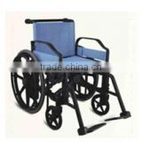 Rehabilitation Therapy Supplies Topmedi TAW950BEF1 plastic manual handicapped wheelchair made in China