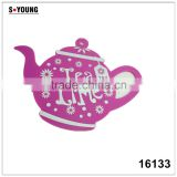 16133 kettle shape unti-skidding table silicone mat