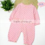 New arrival cute design cotton jersey fabric baby romper baby clothes stock apparel
