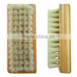Leather cleaning soft shoe brush