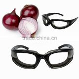 Best Promotion Onion Tear Free Glasses Onion Goggles Chopping Eye Glasses Built In Sponge Kitchen Slicing Eye Protect Tools