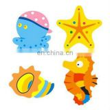 Cute sea animal shaped eraser