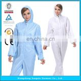 ESD Cleanroom Garment , Antistatic Cleanroom Smock/Coverall/Suit/Clothing/Clothes/Workwear Protective