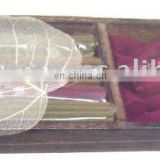 indian incense wooden gift pack set