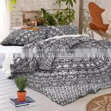 Home Decor 100% Pure Cotton Luxury Bedding Tapestry Bohemian Throw Pillow Set Mandala Bed Sheet