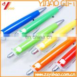 Cuatom design logo Plastic ball/ball-point with printing custom logo