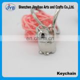 Romantic personality Cute little cat key ring Korean couple key chain Metal exquisite Lucky cat