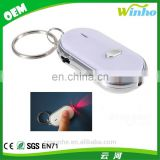 Winho LED Light Sound Control Lost Key Finder Locator Keychain