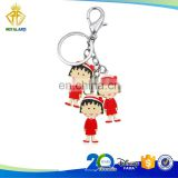 Hot Selling Japanese Cartoon Hard PVC Keychain