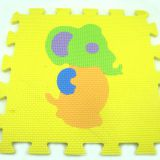 Polyester+cotton 8.0mm 10mm Eva Foam Puzzle Mat Jigsaw