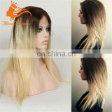 virgin hair straight full lace wig 2 613 blonde ombre hair wig for black woman blonde brazilian hair full lace wig