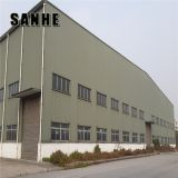 Steel structure prefabricated industrial building metal sheds warehouse with low price