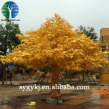 ficus tree gold  high simulation fiberglass outdoor lifelike decoration