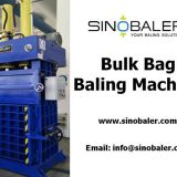 Bulk Bag Baling Machine