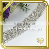Wholesale ab crystal ss6 rhinestone banding trimming clear rhinestone cup chain FC645                                                                                                         Supplier's Choice