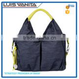 Wholesale Hot Style Denim Diaper Tote Bag