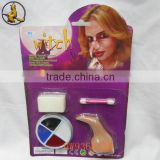 4 Color Face Painting with Witch Nose Kit on Sale