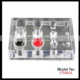 Transparent Acrylic Holder For Tattoo Ink Cup, Tattoo Supplies                                                                         Quality Choice