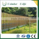 High quality cheap price WPC wood plastic composite fence
