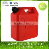 Plastic Gas Tank SEAFLO 10 Liter 2.6 Gallon Motorcycle Gas Tank