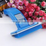 Pet Deshedding Tool - Cat and Dog Grooming Brush