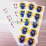 fancy customized Adhesive sticker /cute hello kitty motorcycle sticker/fashion carton sticker