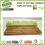 bamboo wood cutting set wholesale bread cutting fibre power made eco friendly kitchenware pizza cutting board