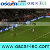 Bracing standing advertising led displayin Football stadium P8 outdoor full color smd led display