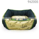 Fashion styles washable clear luxury gold color bamboo pet bed for dog of Rosey Form