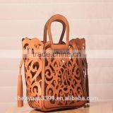 2016 Alibaba express china Unique design bolsa feminina bags genuine leather women handbags ladies unique bag taobao