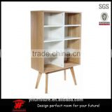 wooden living room bookcase furniture modern ladder bookshelf                                                                                                         Supplier's Choice