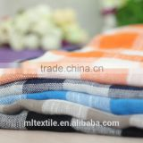 High quality printed cotton linen blended bamboo fabric
