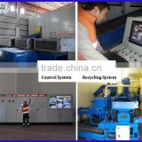 HW-006 6 CMade in China Recycling Plant PC Control Two Shaft Plastic and Tyre Shredder Machine