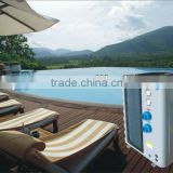 swimming pool heat pump, solar swimming pool pump, titanium pump