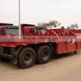 20ft CONTAIN CHASSI trailer manufacturer for heavy duty ( flatbed optional) with twist lock for Angola\Congo