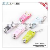Colorful Plating New Design Plastic Nail Clipper