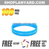 China Supply Free Sample Fitness Silicone Rubber Bracelet                                                                         Quality Choice