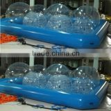 HOT!!!! sale cheap high quality pvc big customized adult inflatable above ground water walking ball swimming pool water