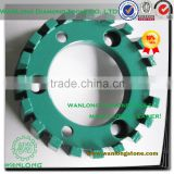 high processing CNC wheel for engineered stone stubbing,stone CNC stubbing tool manufacturer