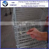 Best-selling foldable wire container storage cage wire mesh container                                                                         Quality Choice